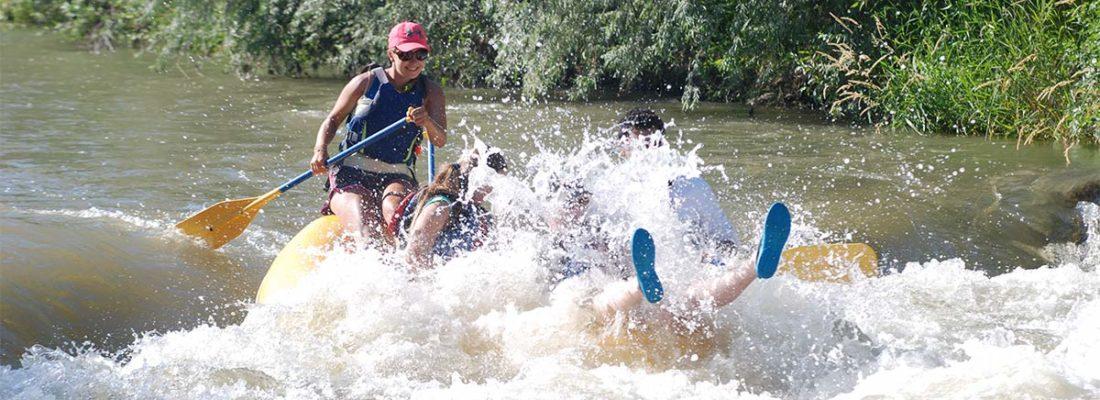 Guide Padding Through a Weber River Rapid