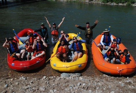 Park City Rafting Adventures on a Private 13 or 11 Foot Raft with Gear