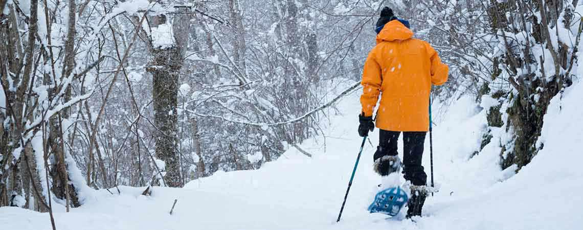 Snowshoeing Park City, Utah with Utah Outdoor Adventures