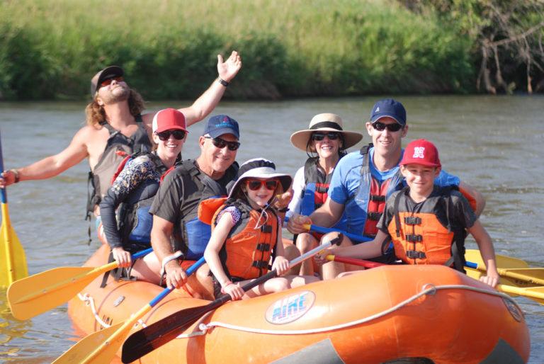 Family Rafting Weber River