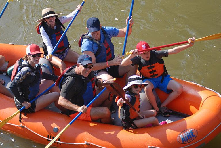 Family Park City Rafting Trip
