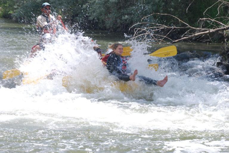 Rafting Weber River Rapid