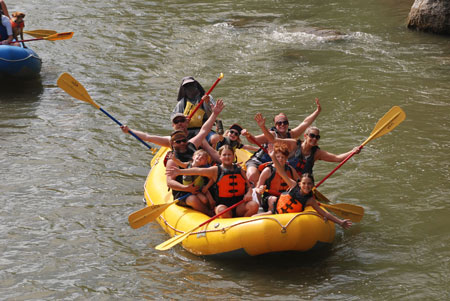 Park City rafting group