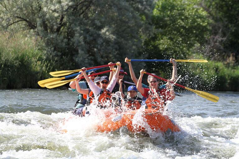 Rafting Weber River Rapids