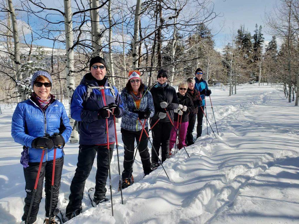 Women-Snowshoeing-Park-City-Aspens-2